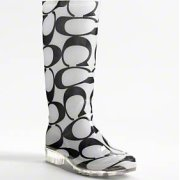 Coach's Pixy rain boots $108.00 at Coach