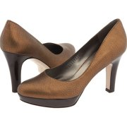 Salvatore Ferragamo Giara platform pumps $564.00 at Zappos